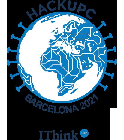 logo hackupc de IthinkUPC
