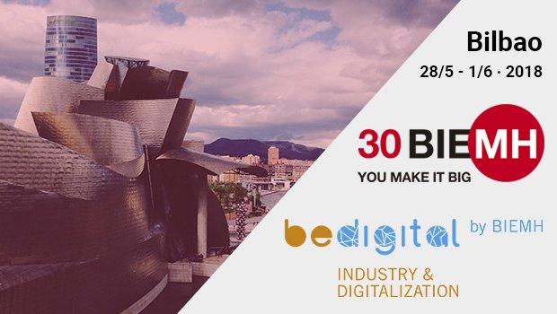 Asistiremos a la Bienal Española de la Máquina Herramienta - BeDIGITAL