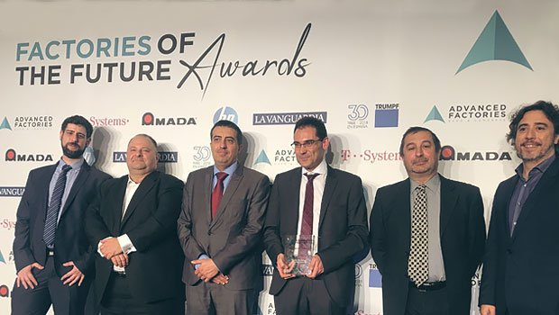 Ganadores de los Factories of the Future Awards 2018 -  Mejor programa de investigación en Industria 4.0