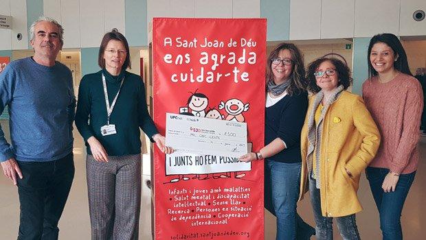 Entregamos 1.500 euros al programa Hospital Amic