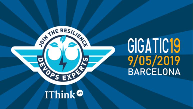 Explicarem com adoptar la resiliència en entorns TI al gigaTIC 2019