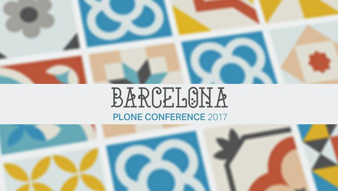 Plone Conference Barcelona 2017
