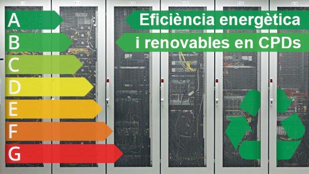 Estaremos en la jornada Eficiencia Energética y renovables en CPDs
