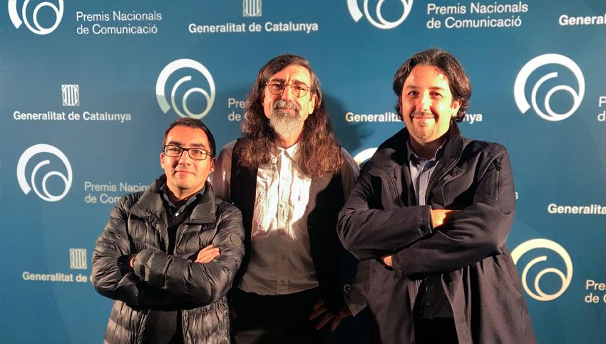 L'Altra Ràdio recibe el Premio Nacional de Comunicación de la Generalitat