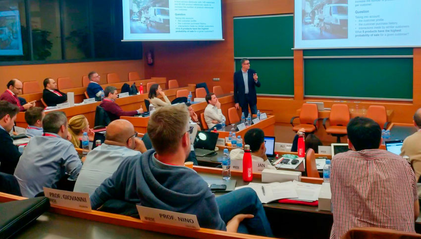 Participem en el programa Artificial Intelligence for Executives de l'IESE