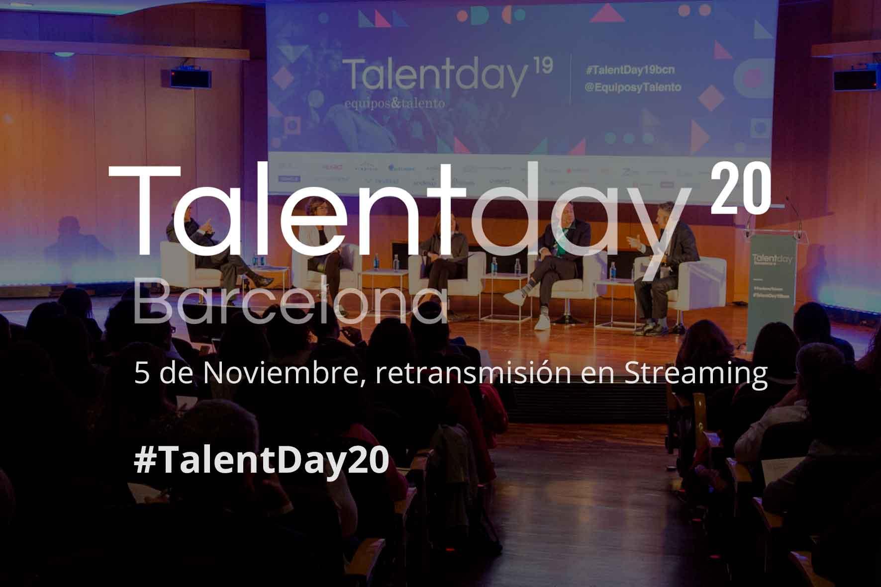 Participaremos en el Talent Day Barcelona 2020: Reconnecting People & Reinventing Organizations