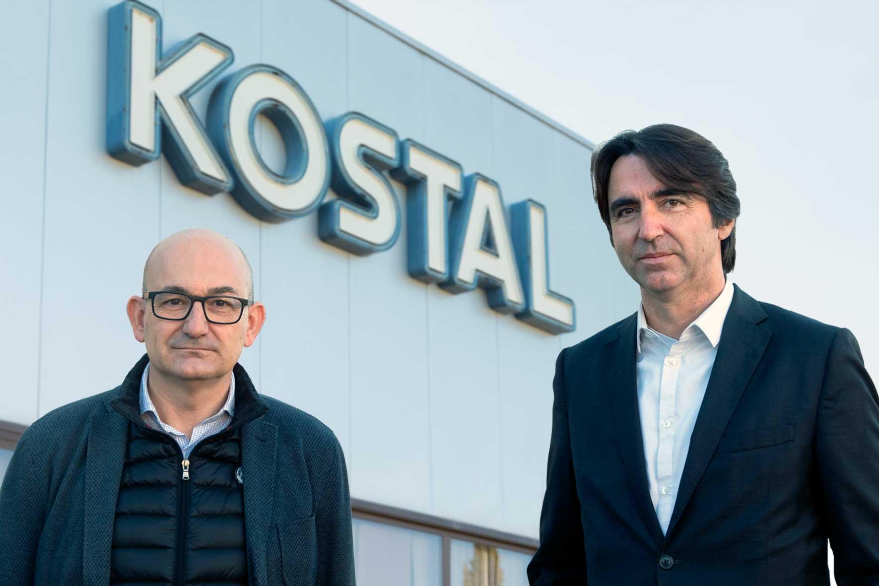 Entrevista a Josep Senar i Ricard Grau sobre la implantació d'una app corporativa a KOSTAL Group